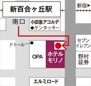 クラブバス乗り場地図