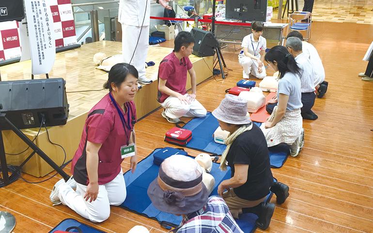 新百合ヶ丘総合病院 救急の日キャンペーン