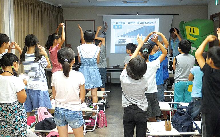 川崎西法人会 会社見学&租税教室バスツアー 租税教室