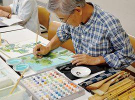 初心者・経験者大歓迎!楽しい教室です!デッサン・水彩画・日本画教室 芽実会