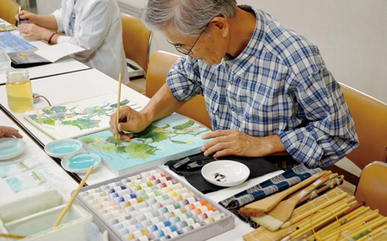 デッサン・水彩画・日本画教室 芽実会