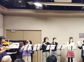 フルート&リトミック秋の無料体験開催中!髙橋フルート&リトミック教室