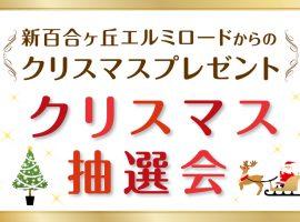 特賞は10万円分のペア旅行券新百合ヶ丘エルミロード「クリスマス抽選会」