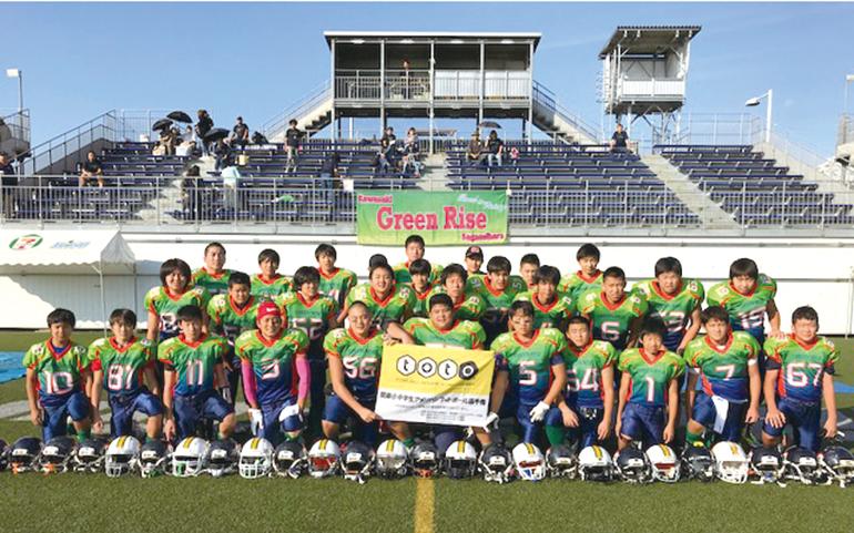 中学生チーム
