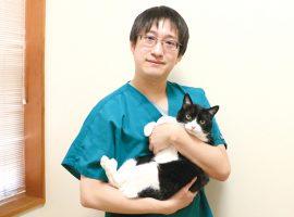 添田岳史先生がそえだ動物病院院長に就任