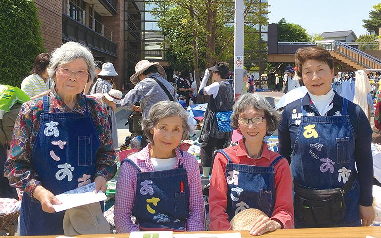 あさお市実行委員会のメンバー