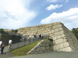 天守が建てられることのなかった江戸城天守台