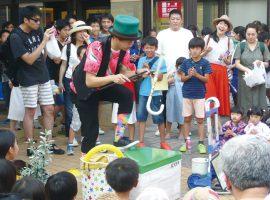 2018/7/14(土)新ゆりグリーンプラザ商店会夏の風物詩「夜市」