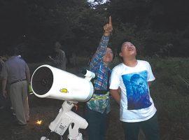 2018/8/4(土)麻生区市民健康の森「夏の星空を楽しむつどい」