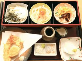 三味御膳 1,580円(税込)