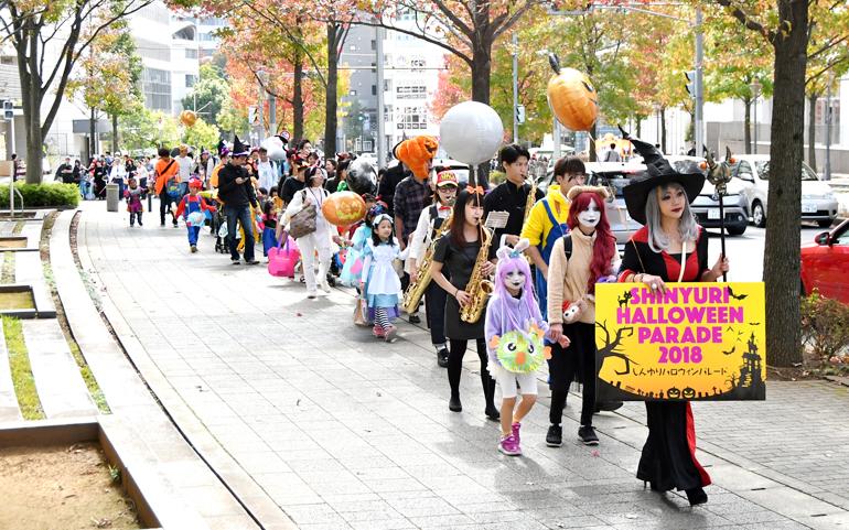 しんゆりハロウィンパレード