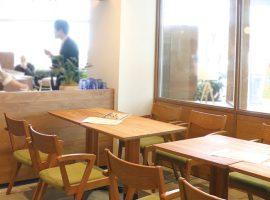 「食べる」「話す」が楽しい場所をイメージして作られたカフェ。