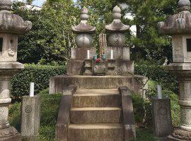 勝海舟の墓所