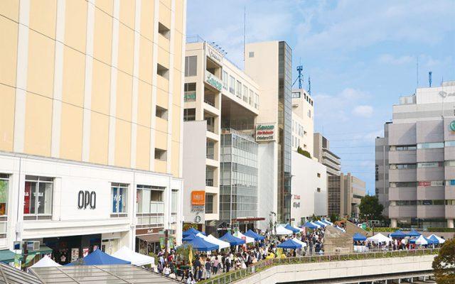 今回のフェスティバル・グランマルシェはエリアを拡大して開催!