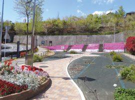 官民一体となって緑化を行った「四季の花プロジェクト」(万福寺さとやま公園)