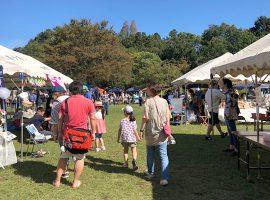 親子で1日向しめるイベント「Vege & Art Fes」(昨年の様子)