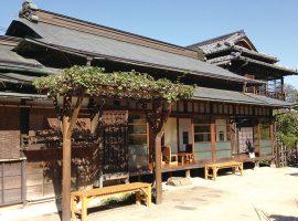 旧小林医院の建物(高尾駒木野庭園)