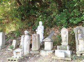 麻生区王禅寺の「村境の石仏群」