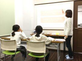 英語教室の様子