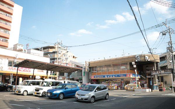 柿生駅南口の様子