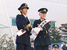 川崎フロンターレ・中村憲剛選手一日麻生消防署長に就任
