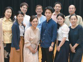 出演者一同 後列左から2人目が演出の西川明