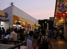 2019/7/13(土)新ゆりグリーンプラザ商店会夏の風物詩「夜市」