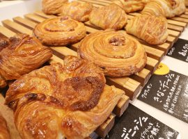 甘さひかえめの菓子パンたち