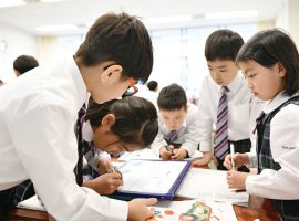 自ら考え 判断し 行動できる子どもたちの育成「桐蔭学園 幼稚園・小学校」