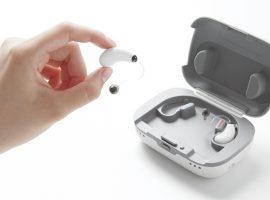 グッドデザイン賞を受賞したパナソニック製補聴器