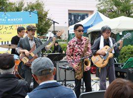 過去の新百合ヶ丘での公募スペシャルライブの様子(写真は2019年 しんゆりフェスティバル・マルシェ内にて)